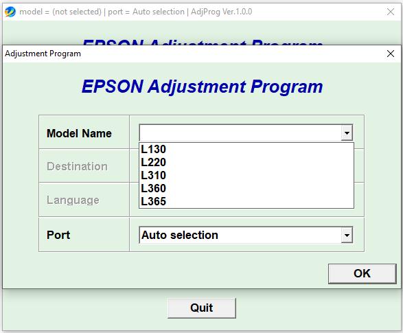 Epson L130 L220 L310 L360 L365