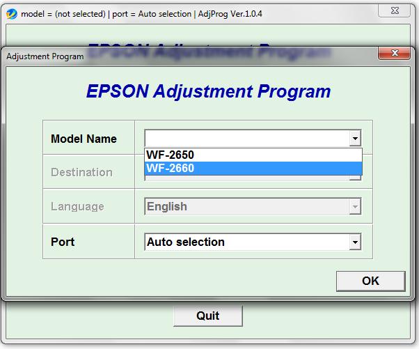 Epson Wf2650 Wf2660