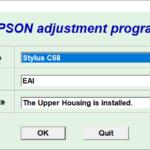 Epson C68 Resetter Adjustment Program Tool Free Download