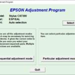 Epson CX7300 Resetter Adjustment Program Tool Free Download